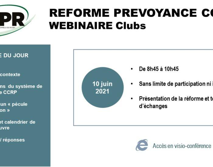 Webinaire réforme prévoyance – Le document support est disponible